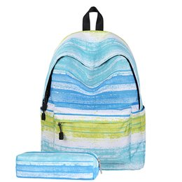 Back Pack Case NZ - Datomarry 14 inch back pack with pencil case,korean style school bags for girls and boys,rugtas mini backpacks for girls