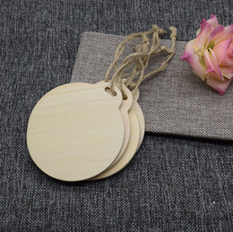 $enCountryForm.capitalKeyWord Australia - Large Wooden Round Tags 10CM Circle Wood Labels for Wedding Party Favors Hanging Tag Blank Gift Tag DIY Decoration