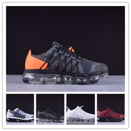 black men running shoes discounted NZ - 2019 Run Utility Men Running Shoes Best Quality Black Anthracite White Reflect Silver Discount Shoes Sport Sneakers Size 40-45