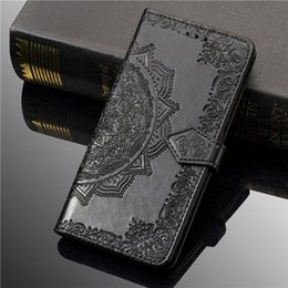 $enCountryForm.capitalKeyWord Australia - Wholesale new embossed phone case business flip Wallet Case for iphone XS MAX case 6 7 8 plus X XR with retail box