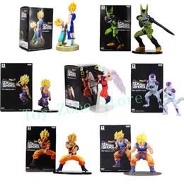 $enCountryForm.capitalKeyWord Australia - Dragon Ball Z Dramatic Showcase Figure Gohan Cell Goku Vegeta Trunks Frieza DBZ Collectible Model Toys