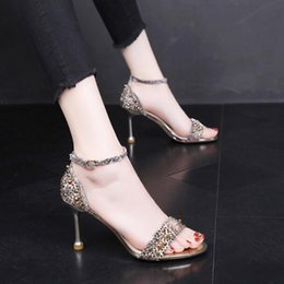 $enCountryForm.capitalKeyWord Australia - Women brand Pumps Sandals Open Toes Colour diamond Stiletto 8 cm Shallow mouth fashion Buckle Strap Prom Party Shoes Summer