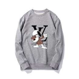 Dancing sweaters online shopping - Lou new fashion men s sweater handsome fashion with imported fabrics comfortable fashion dancing puppy badge