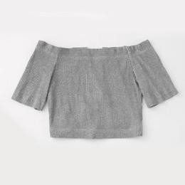 Ladies Clothes Boats NZ - Women Lady Girl Boat Neck Short Sleeve Top Shorts Loose Pants Set Fashion Clothing IK88