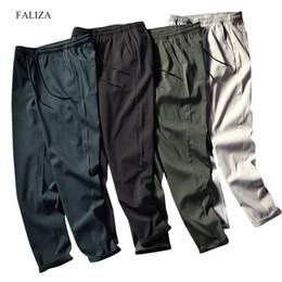 $enCountryForm.capitalKeyWord NZ - FALIZA 2019 New Mens Haren Pants For Male Casual Sweatpants Hip Hop Pants Streetwear Trousers Men Track Joggers Man Trouser PA15