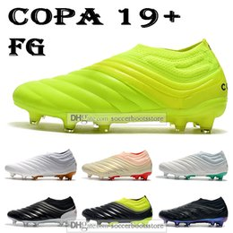 Cheap firm ground football boots online shopping - New Cheap Mens High Tops Football Boots Copa Firm Ground Cleats Copa FG Outdoor Soccer Shoes