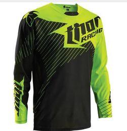 Army Thermal Shirt Australia - Thermal Fleece MOTO 2017 NEW Winter Motocross T-Shirts Dirt Bike Cycle Bike MTB Downhill Motorcycle T-Shirts Racing Jersey K