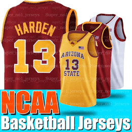 ArizonA stAte jersey online shopping - NCAA James Jerseys Harden Russell Westbrook Arizona State University Sun Devils UCLA University of California