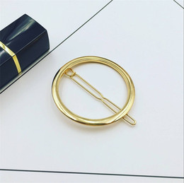 Diamonds Hair China Australia - Europe and America Restore Ancient Ways Geometry is Contracted Hairpin Clip Short Hair is Acted the Role of Hairpin