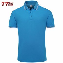 polo xs Canada - New 2020 Summer Striped Polo Shirt Men Casual Cotton Short Sleeve Tee Camisa Masculina Breathable Polo Para Hombre Plus Size 3XL T200528