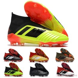 $enCountryForm.capitalKeyWord NZ - V SX Neymar soccer Shoes Predator 18 X Pogba FG Accelerator DB Kids Men Mercurial Superfly FG football Cleats Real Madrid Trainers Designer