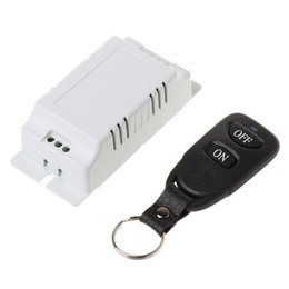 $enCountryForm.capitalKeyWord Australia - 1Set AC85V-250V Wireless LED Light Lamp Switch 2CH RF Relay Receiver Transmitter Remote Control for Door Gate Garage Controller