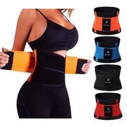 sauna suits weight loss Australia - Sweat Neoprene Weight Loss Body Shaper Waist Trainer Cincher Corsets Best Workout Sauna Suit Thermo Slimming Belt for Women Y200706