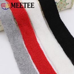 $enCountryForm.capitalKeyWord Australia - Meetee 1-4CM Rabbit Wool Yarn Webbing Cotton Woven Belt Ribbon Trim DIY Sewing Clothing Hair Material Accessories AP562