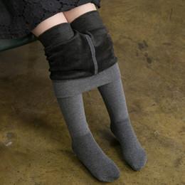 $enCountryForm.capitalKeyWord Australia - 3-10T Children Leggings Children's Pantyhose Thick and Velvet Winter Waist White Pants Cotton Student Dance Pants Girls Leggings