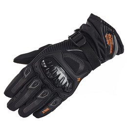 windproof waterproof touch screen gloves UK - Motorcycle Gloves Man Touch Screen Winter Warm Waterproof Windproof Protective Gloves Guantes Moto Luvas Motosiklet Eldiveni S1025