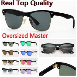 Опт солнцезащитные очки негабаритных модель 4175 настоящее стекло линзы мужчины женщины des lunettes De soleil с кожаный чехол, пакет, аксессуары, коробка, все!