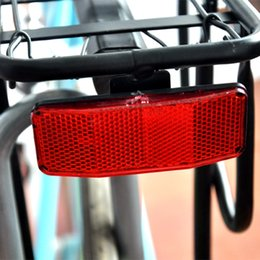 12 inch bike wholesale NZ - Bicycle Bike Safety Reflector Bikes Cycling For Rear Pannier Racks Bicycle Bike Safety Reflector Bikes Cycling For Rear Pannier Racks