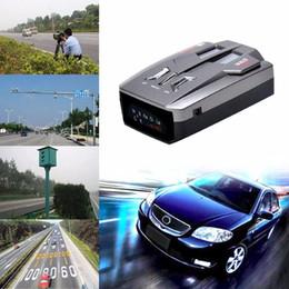 Top Black Fashion New V9 Détecteur de voiture Led d'affichage Voix Alert 16 Avertissement bande auto 360 degrés Radar Système laser Vitesse d'essai 30 en Solde