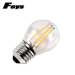 $enCountryForm.capitalKeyWord Australia - Glass Led Filament Bulb Home Lighting Dimmable 220v 2w 4w Globe Bulb Cob E27 G45 Edison Vintage Ampoule Led Lamp Light