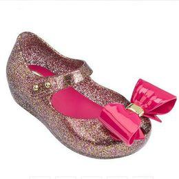 $enCountryForm.capitalKeyWord Australia - Melissa 2019 New Big Bow Original Jelly Sandals For Girls Cute Baby Sandals Girls Shoes Melissa Beach Sandals Water Shoes Y19062001
