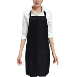 $enCountryForm.capitalKeyWord Australia - Household Kitchen Apron Fashion Chef Apron With Pockets Men Lady Woman Aprons For BBQ Baking Cooking Gardening Working