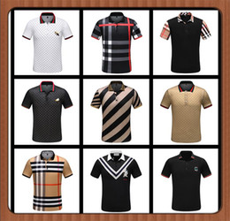 Cheap T Shirt Designer NZ - CHEAP Brand Designer polos shirt mens Summer Short Sleeve Cotton Polo With Embroidered tiger men Casual Luxury Medusa tees t-shirt M-XXXL