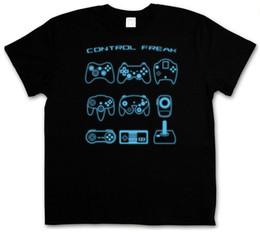 China CONTROL FREAK I T-SHIRT - Video Game Controller NES Evolution Joystick Gamepad Mens 2018 fashion Brand T Shirt O-Neck 100%cotton suppliers