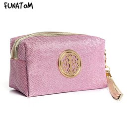 $enCountryForm.capitalKeyWord Australia - Women Pink Cosmetic Bag Travel Make Up Bags Fashion Ladies Makeup Pouch Neceser Toiletry Organizer Case Clutch Tote Hot Sale