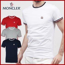 2020 Hommes Designer T-Shirts Mode Hommes Vêtements 2018 Été Casual T-shirt de luxe d'été Streetwear mélange de coton ras du cou à manches courtes en Solde