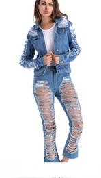 $enCountryForm.capitalKeyWord Australia - Sexy Ripped Jeans Women Will Holes Women's female denim ripped skinny womens hip hop plus size Jeans for Bound Feet Pants suspenders pr