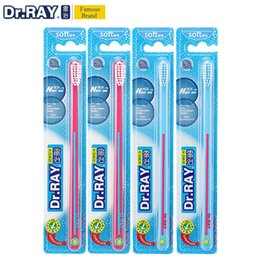 $enCountryForm.capitalKeyWord NZ - Dr.Ray Toothbrush Soft Tooth brush Bristles 0.01mm ECO Friendly Kids toothbrush Small Head Environmental Protection Material C18112601