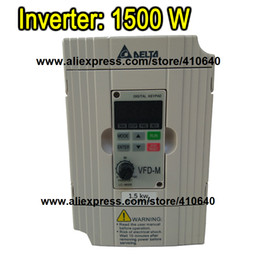 Wholesale Delta Inverter 1.5 KW VFD015M43B 3 Phase 380V to 460V Rated Currrent 4 A Brand New 1500 W Products with Free Shipping Delivery