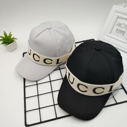 f1cab3230d3 Spring and summer new baseball cap men and women luxury retro personality  trend stick cloth letter fashion hat
