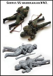Resin Figures Australia - Free shipping 1 35 Resin Figures WW2 GERMAN SS SOLDER.KILLER Unassembled unpainted J171