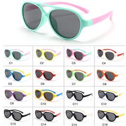$enCountryForm.capitalKeyWord Australia - Polarized Kids Oval Sunglasses TAC TPEE Pilot Soft Frame Baby Boys Girl Sun Glasses UV400, Child Children Outdoor Goggles