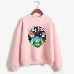 $enCountryForm.capitalKeyWord NZ - Sally Face womens clothing bts Sweatshirt korean style women Hoodies kpop harajuku Vogue print long sleeve Vogue Hoodie femme