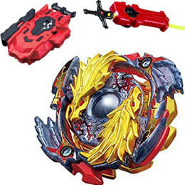 $enCountryForm.capitalKeyWord NZ - Beyblade Burst B-00 Starter Lost Longinus .N.Sp Gold Dragon Toy + LR RED Launcher and Sword Launcher
