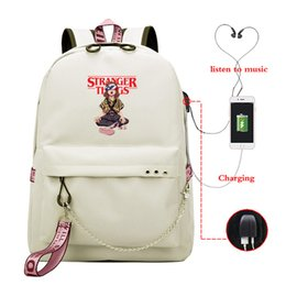 back packs teenager Australia - Season 3 Backpack School Bags for Teenagers Girls Funny Eleven Student Back Pack Women Bagpack