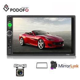 $enCountryForm.capitalKeyWord Australia - Podofo Car Radio Mirror Link Autoradio 2 din General Car DVD Models 7'' inch HD Touch Screen Bluetooth Auto stereo + 12 LED Rear View Camera