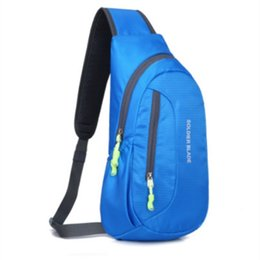 bag man diagonal UK - Unisex Waterproof Outdoor Bag Men Women Portable Running Shoulder Bag Diagonal Package Cycling Running Hiking Sports #369129