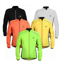 Jacket removable sleeves online shopping - Wolfbike Cycling Jerseys Running Jackets Outdoors Coats Men Long Sleeve Wind Rain Waterproof Breatheable Colors Mix ns F1