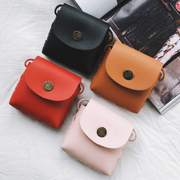 korean children purses Australia - Korean-style Children 2019 Spring And Summer New Style Shoulder Bag Retro Cross-body Purse Trend Mini Men And Women Children Acc