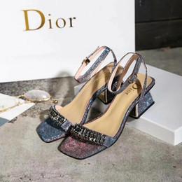 411f77e89 8 Фотографии Итальянская женская обувь для продажи-Новые летние женские  босоножки на высоком каблуке итальянский бренд высокого