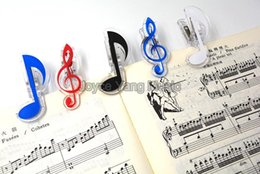 music notes clef Canada - Niko Treble Notes Bass Clef Grand Piano Music Book Note Paper Sheet Spring Clip Holder For Piano Guitar Violin Performance