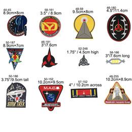 $enCountryForm.capitalKeyWord Australia - Star Trek logo Embroidered patch Classic Name & Enterprise Ship Dyson-Yoyodyne Corporation INSIGNIA UNIFORM halloween costume