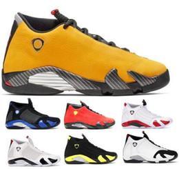$enCountryForm.capitalKeyWord Australia - Mens 14 14s Basketball Shoes Designer Sneakers Black Suede Emerge Rip Hamilton Candy Cane Desert Sand Thunder XIV Sports New Baskets Shoes