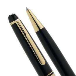 $enCountryForm.capitalKeyWord UK - Luxury Msk-163 Black Resin Rollerball pen Ballpoint pen Fountain pens Stationery school office supplies with Monte Branding Man Cufflinks