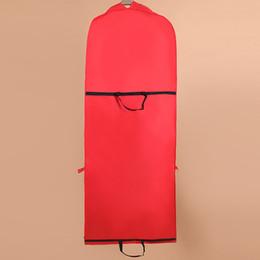 $enCountryForm.capitalKeyWord Australia - New 155CM Foldable Storage Bag Cover Home Dress Clothes Garment Suit Cover Case for Bridal Wedding Dress Dustproof Bag Protector