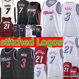 3e9419d29240 Miami Basketball Jersey NZ - Dwyane 3 Wade Jersey New Miami city Heat Basketball  Jerseys GORAN